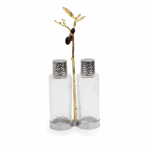 MICHAEL ARAM OLIVE BRANCH CRUET CADDY - Carats Jewelry and Gifts