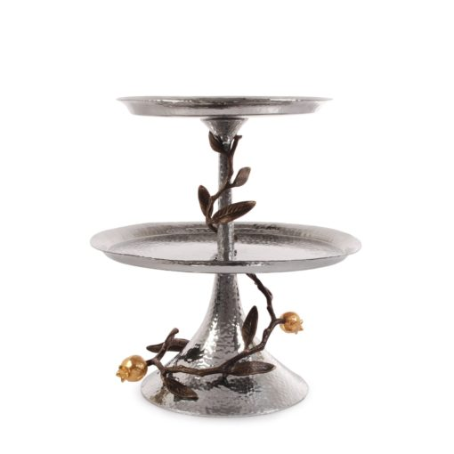 MICHAEL ARAM POMEGRANATE 2-TIER ETAGERE - Carats Jewelry and Gifts