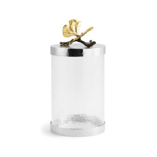 Butterfly Ginkgo Canister Medium - Carats Jewelry and Gifts