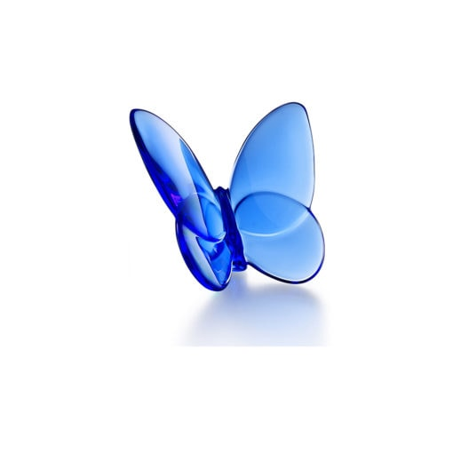 Baccarat Papillon Lucky Butterfly, Blue - Carats Jewelry and Gifts