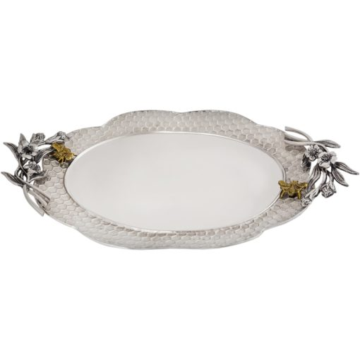 Bumble Bee Oval Platter - Carats Jewelry and Gifts