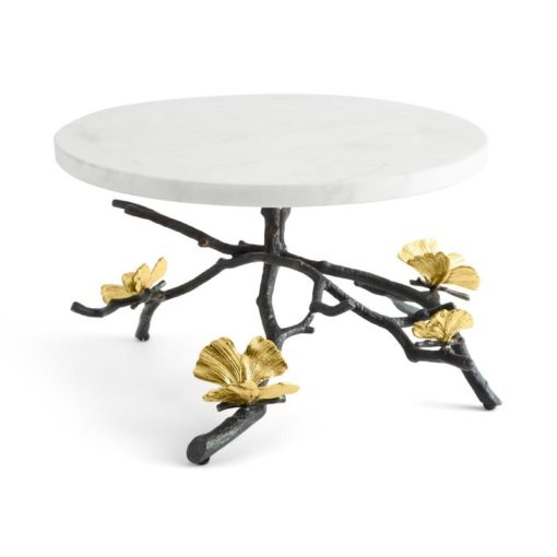 Butterfly Ginkco Cake Stand - Carats Jewelry and Gifts